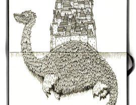 City on a back of a Sea beast