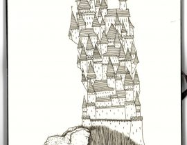 City on a back of a Hairy beast