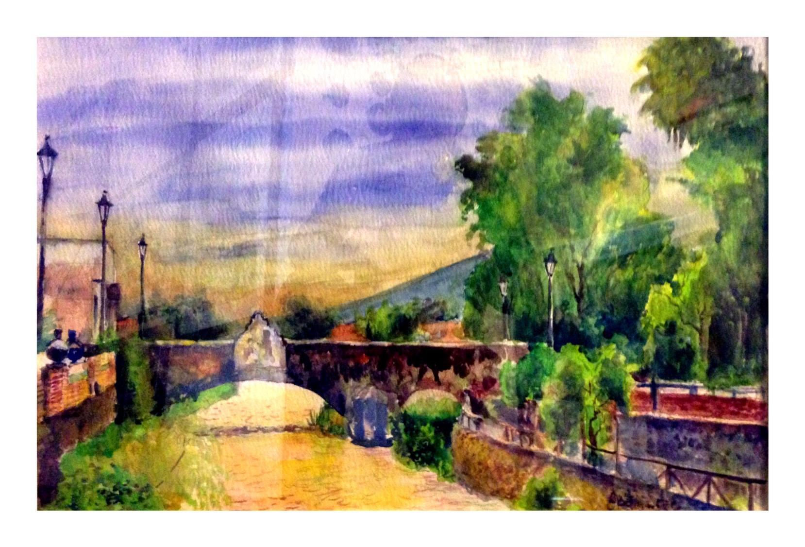 El Puente en Jiquílpan, Mich.
