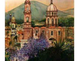Iglesia del Sagrado Corazón en Jiquílpan, Mich.
