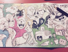 Doodles for Japanese Sketchbook I