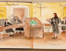 Audience à la 5ème Chambre, cour d'appel de Paris