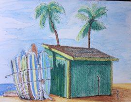 surf hut