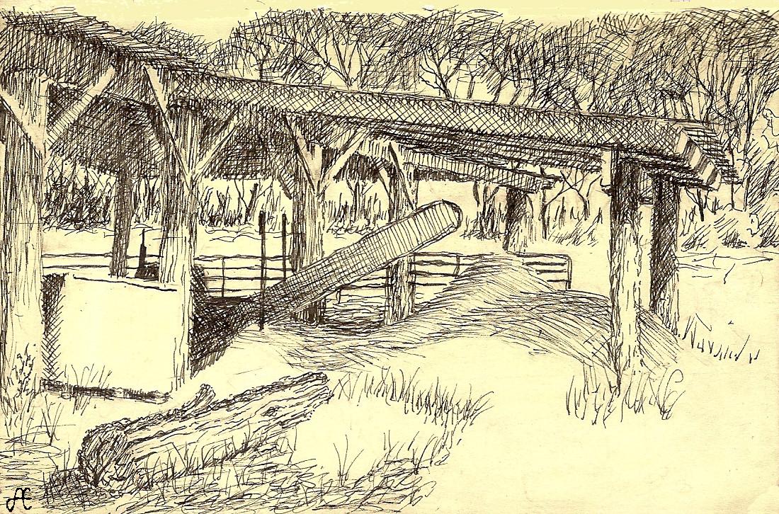 Sawmill at Kinder Farm