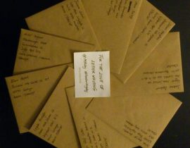 For the love of letter writing…