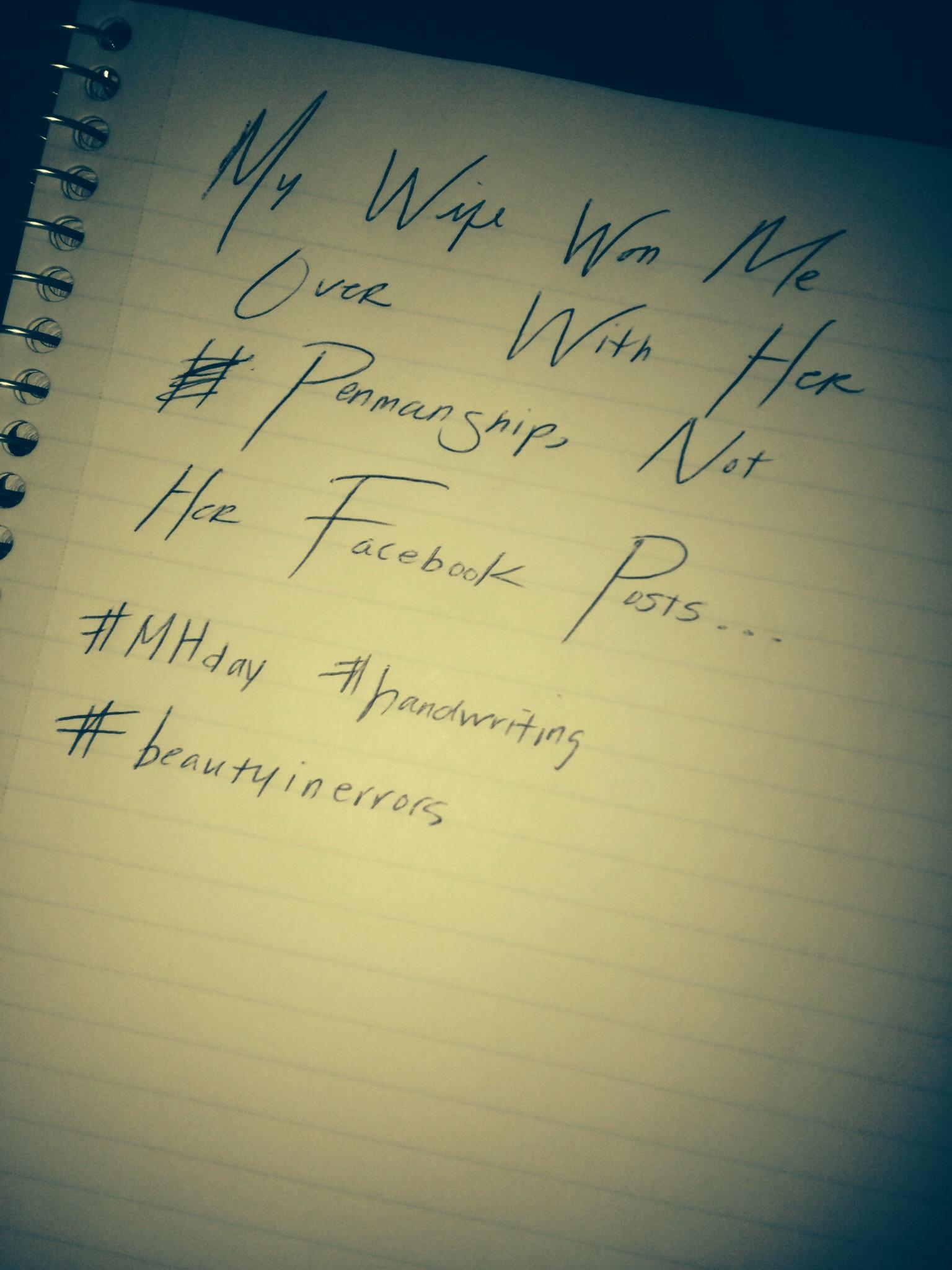 Handwritten love notes