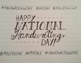 Happy National Handwriting Day!