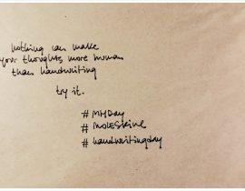 Happy handwriting day!