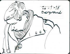 Man on the Overground