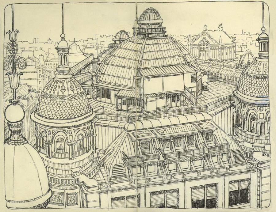 Le toit du Printemps