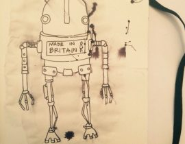 Made in Britain robot