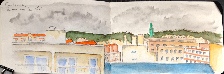 View from my window, Courbevoie, near Paris #M_myView