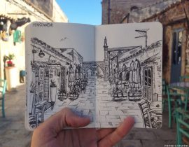 Marzamemi Live Sketch.
