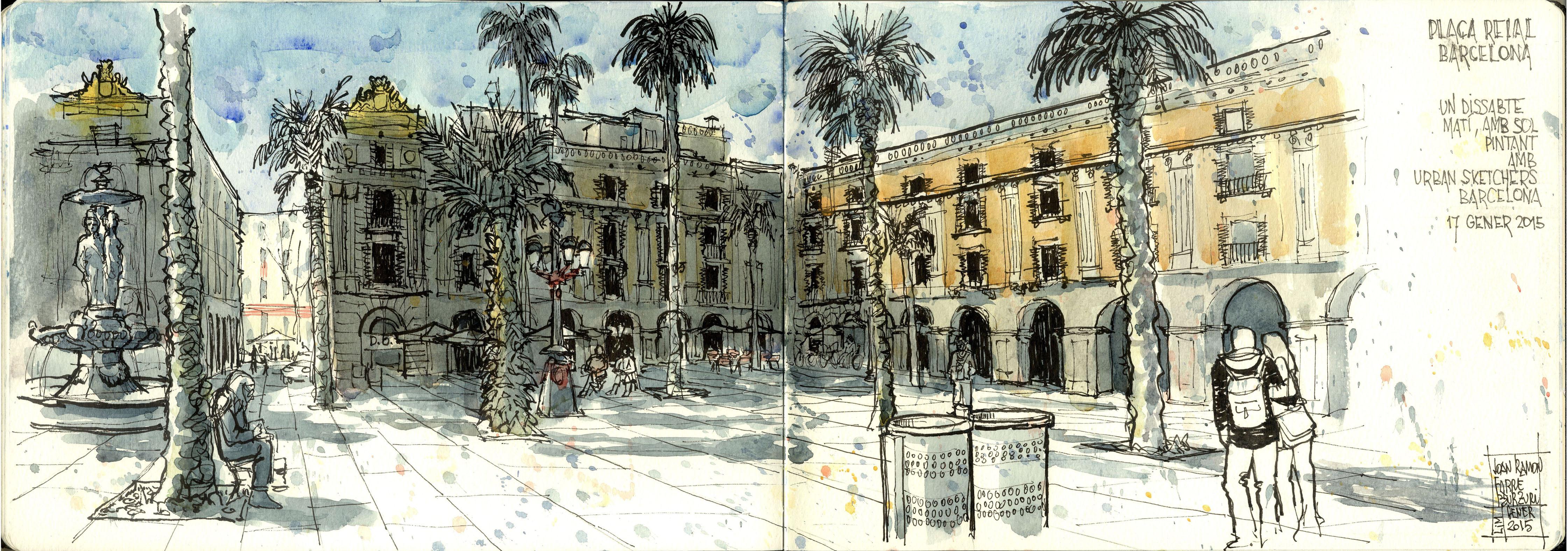 Plaça Reial. Barcelona