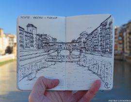 Ponte Vecchio Live Sketch