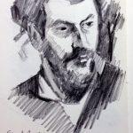Ernest -Ange Duez after John Singer Sargent