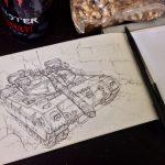 Tank assault.