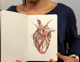 Semi-anatomical heart