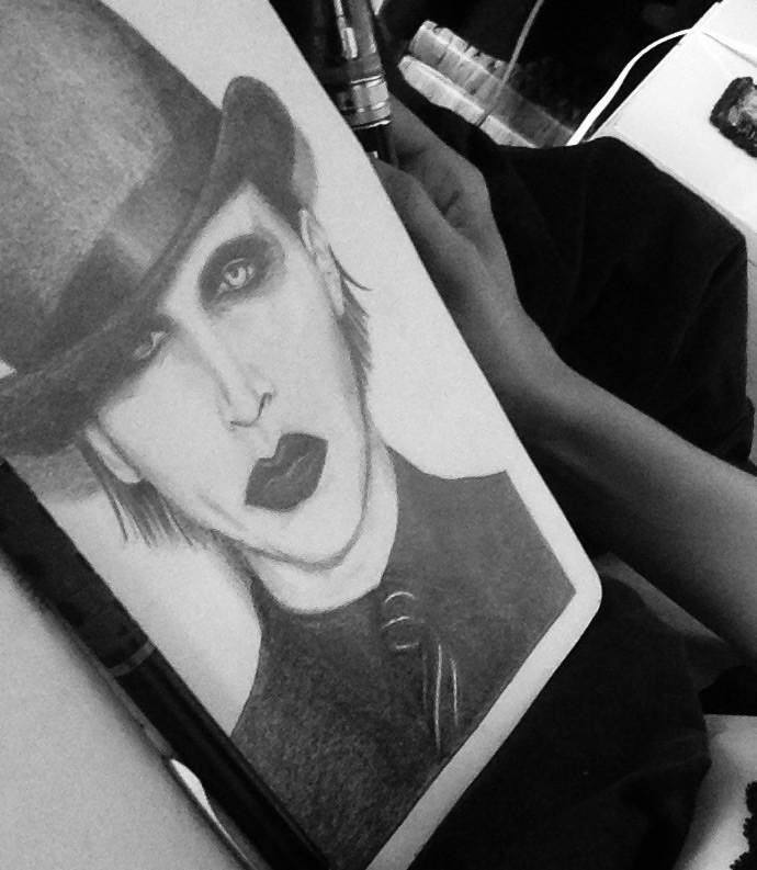 Marylin F@€King Manson