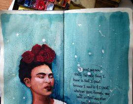 Frida's palette page 1