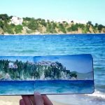 Seascape from Skiathos island