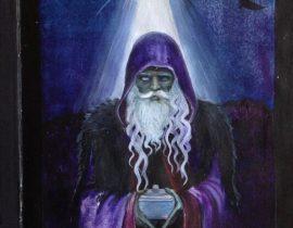 Tarot card l'age d'or