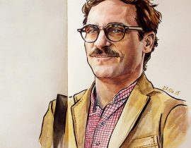 """""""Her"""" Theodore / Joaquin Phoenix"""