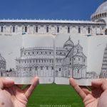 Piazza dei Miracoli DOUBLE Live Sketch.