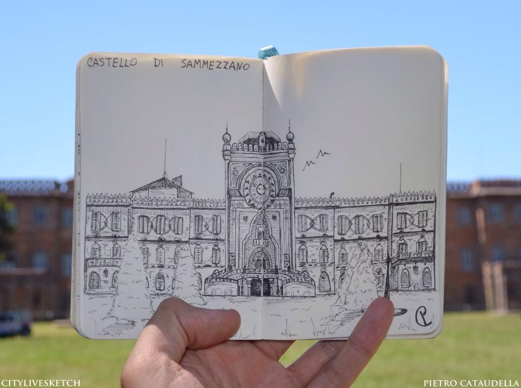 Sammezzano Castle Live Sketch.