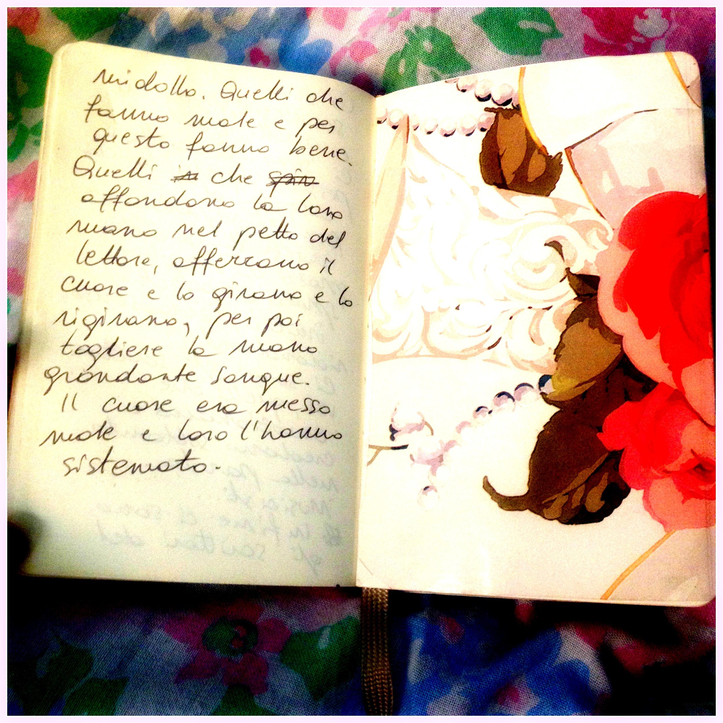 Words & flowers
