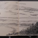 Cedar Lake Sketch