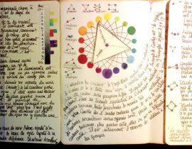 Théorie des couleurs notes page 1