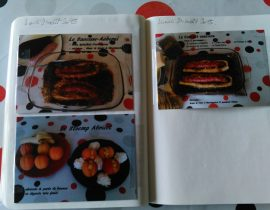 Cahier de Cartes Postales Culinaires