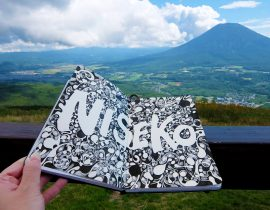 Location from Mt Niseko Annupuri