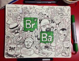 Breaking Bad Doodle