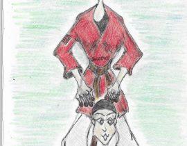 Dojo Duo on a Five by Eight