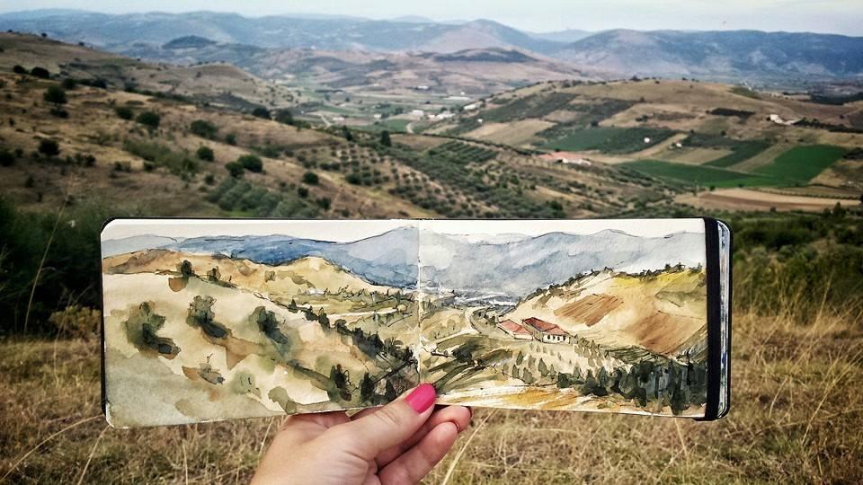 Landscape in Trikala