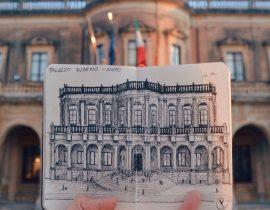 Ducezio Palace Live Sketch