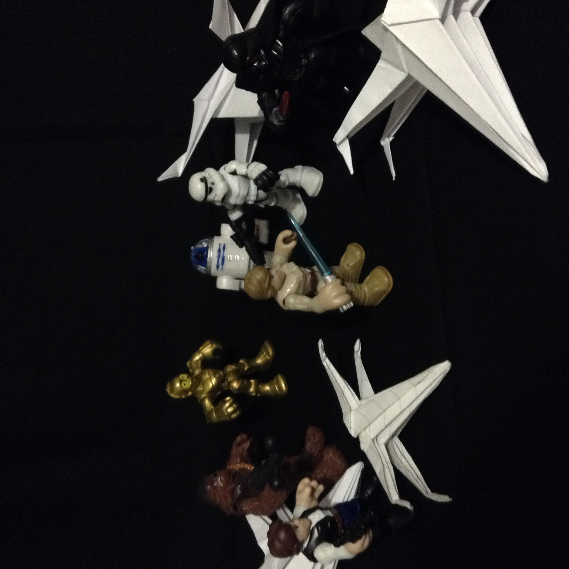 Paper space battle