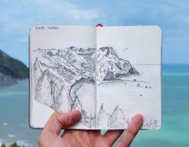 Monte Conero Live Sketch