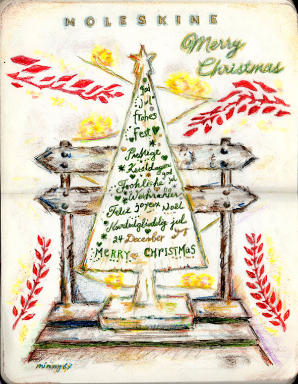 My Christmas Sketching Ideas 2015
