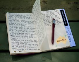 My Moleskine traveled with me to… Australia