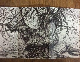 Yew tree, Kingley Vale