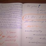 Handwritingday 2016