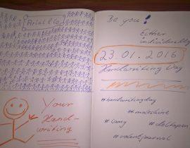 Handwritingday 2016