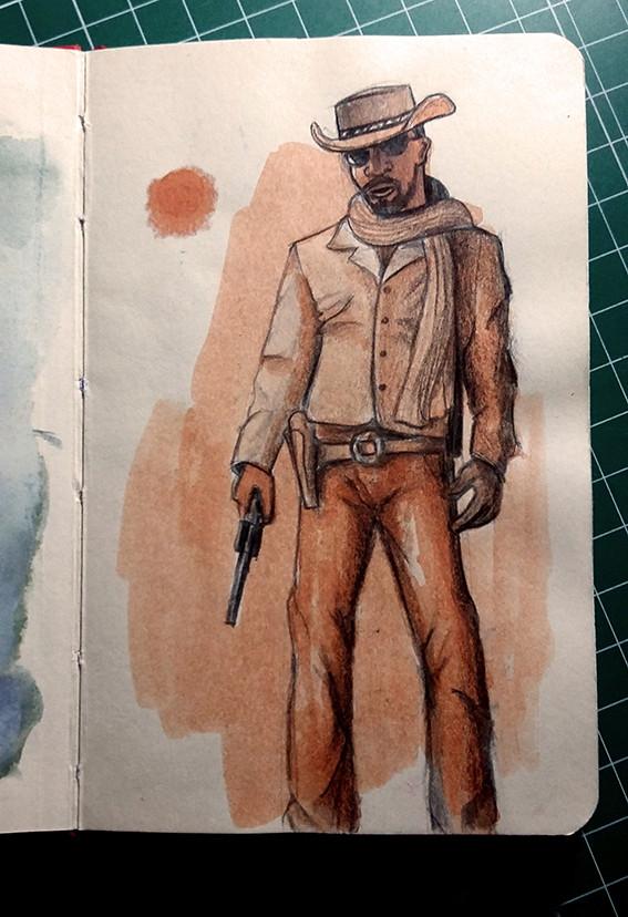 Django. D is mute.