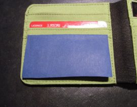 Moleskine Wallet Coin Container Hack