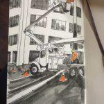 My Moleskine Daily Sketch