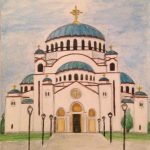 St Sava church in Belgrade
