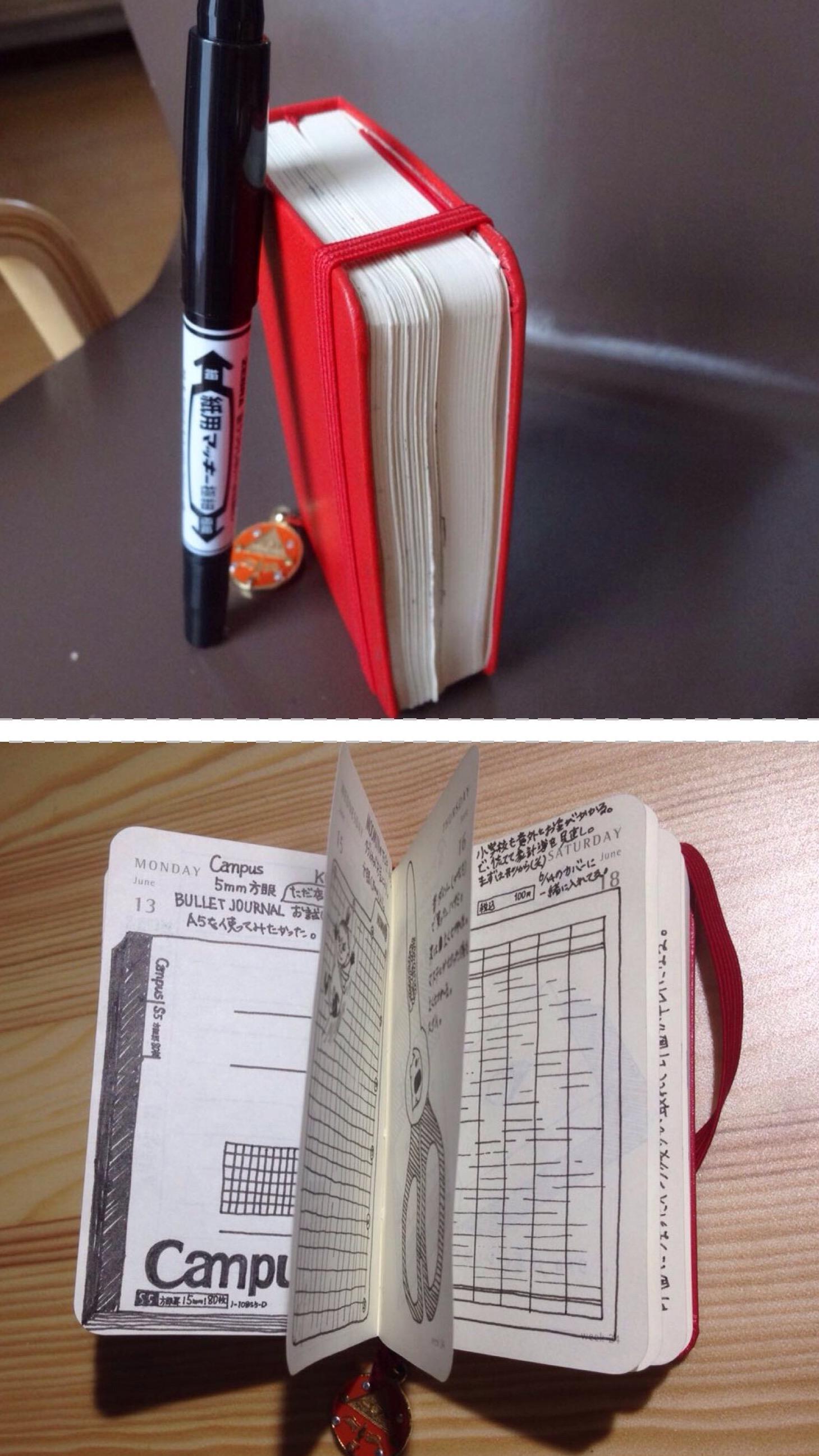 Item notebook